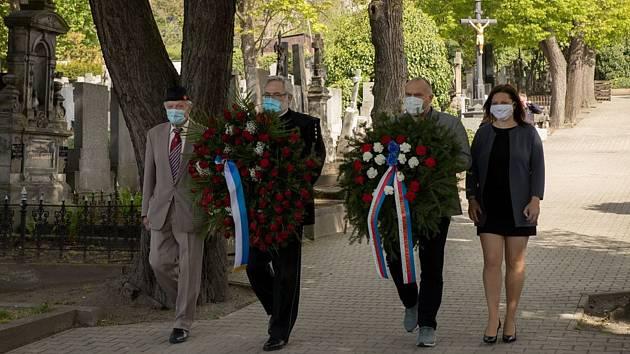 Připomenutí konce války v Kladně.