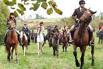 Počasí jízdě nepřálo, přesto se se sezonou přišlo rozloučit mnoho jezdců i koní. Svatý Hunbert jako patron všech jezdců a lovců držel nad účastníky ochrannou ruku.
