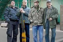 Gladly S.W. Zleva: Josef Mareček, Jiří Fejtek, Jan Šmejkal a Milan Procházka