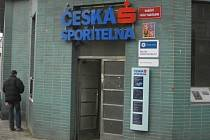 Česká spořitelna ve Velvarech byla od loňska přepadena již podruhé