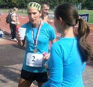 Jana Zímová, vítězka 16. ročník Kladenského maratonu