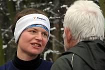 Vítězka ženského závodu Helena Poborská.