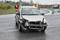 Páteční nehodu u Přítočna