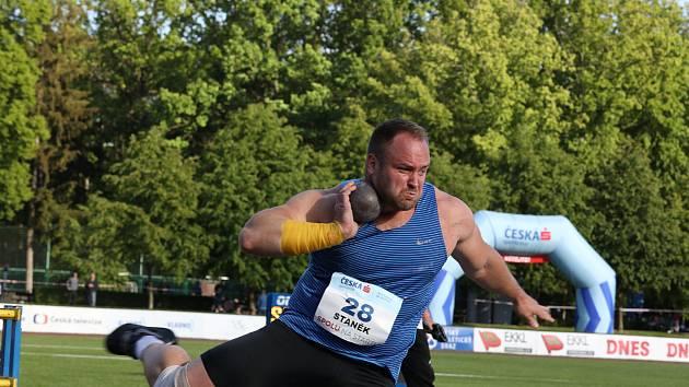 Atletický mítink Spolu na startu v Kladně. Tomáš Staněk