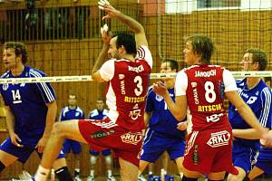 Tomáš Kotrch (3) proti Kladnu v jeho hale