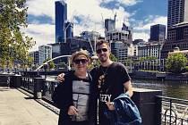 Jaroslav Tauber spolu s Petrem Jandou v australském Melbourne.