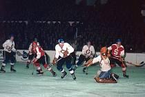 Hokejové vzpomínky: derby Kladno - Sparta bylo vždycky třaskavé.