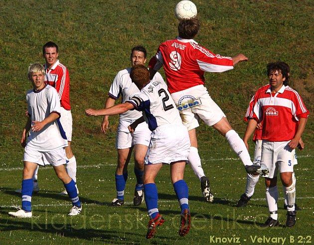Sokol Knovíz - Slovan Velvary B 2:2 (1:1), OP - 2.5.2009