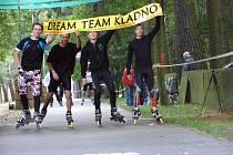 Kladenský in-line maraton 2014.