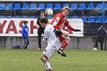 Roman Fulín a Antonín Holub //  SK Kladno - Králův Dvůr  2:1 (0:1) , utkání 16 k. CFL. ligy 2011/12, hráno 26.11.2011