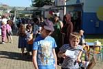 Den středověku v tuchlovické škole.
