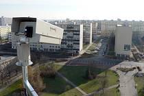 Jedna z nových kamer městské policie je umístěna u Vodárenské ulice v Kladně.