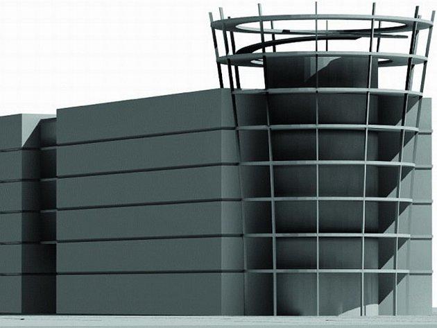 Vizualizace objektu, který měl být postaven na náměstí Svobody v Kladně.