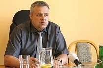 Staronový primátor Kladna Milan Volf.