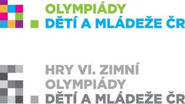 Logo Zimní olympiáda dětí a mládeže.