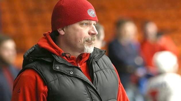 Úspěšný trenér HC Řisuty Michal Jäger.