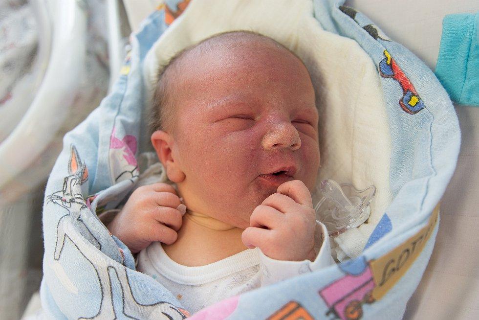 Tobias Gottwald se narodil v nymburské porodnici 10. ledna 2021 v 8:54 hodin s váhou 4350 g a mírou 53 cm. V Městci Králové bude vyrůstat s maminkou Karolínou, tatínkem Davidem, sestřičkou Sabinou (6 let) a bráškou Michaelem (1,5 let).