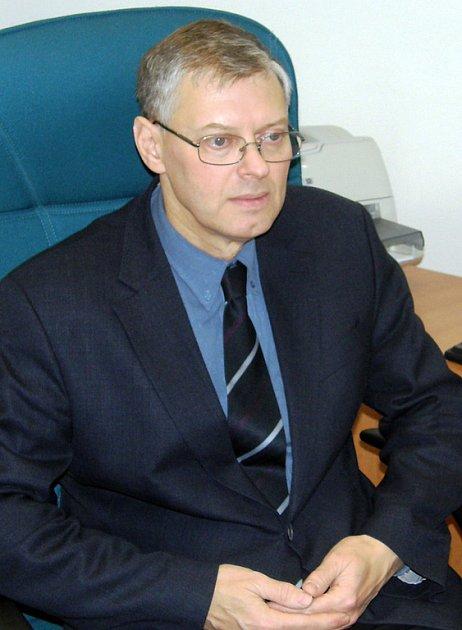 ŘEDITEL krajského katastrálního úřadu Josef Jandl.