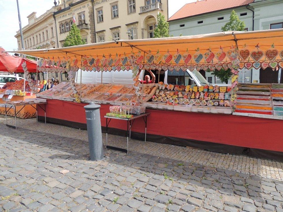 Z jarmarku na náměstí Starosty Pavla v Kladně.