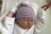 BRIGITA PEJPOVÁ, KLADNO. Narodila se 26. května 2019. Po porodu vážila 3,2 kg a měřila 48 cm. Rodiče jsou Martina Pejpová a Oldřich Jambor. Sestřička Josefína. (nemocnice Kladno)