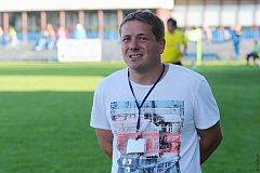 Trenér SK Slaný Martin Nový