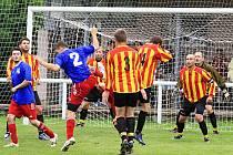 Finále  Lidického poháru 2011 svedlo k souboji domácí a Žehrovické (31.7.2011)