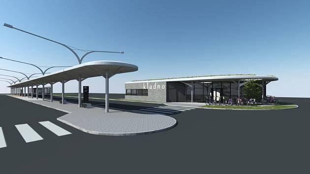 Autobusové nádraží v Kladně se změní v pohodlný terminál, přibude parkování.