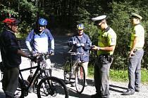 Dopravně bezpečnostní akce policie. Ilustrační foto.
