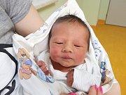 DAMIÁN GUŠLBAUER, SLANÝ. Narodil se 25. března 2018. Po porodu vážil 3,27 kg a měřil 50 cm. Rodiče jsou Marcela Prokschová a Lukáš Gušlbauer. (porodnice Slaný)