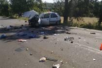Nehoda se stala v úterý u Blahotic.
