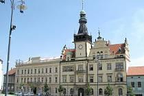 Radnice na náměstí Starosty Pavla v Kladně.