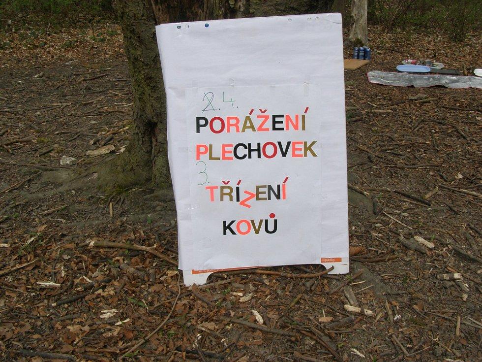 Akce Ukliďme Česko se konala v Kladně hned na třech místech.