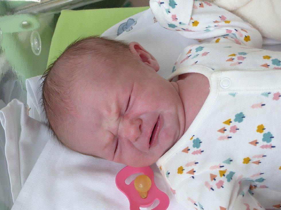 Gabriela Hrušová se narodila 7. ledna 2021 v kolínské porodnici, vážila 3230 g a měřila 48 cm. Do Lišic odjela s maminkou Andreou a tatínkem Radkem.