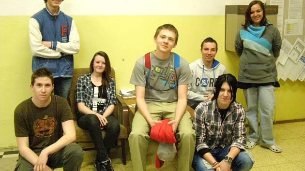 Do projektu Reportáž psaná o přestávce se zapojili také studenti kladenského průmyslovky.