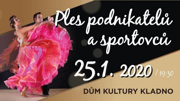 Plakát plesu sportovců a podnikatelů