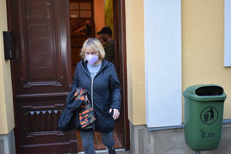 První školní den ve Vraném.