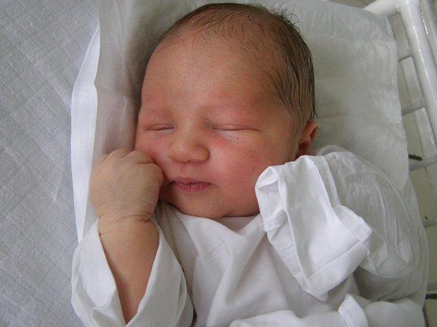 Šimon Vodhánil, Kladno, 6. 8. 2008, váha 3,89 kg, míra 51 cm, Rodiče Renata a Ondřej Vodhánilovi (porodnice Kladno)