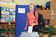 Jedním z tradičních volebních míst v Kladně je rozdělovská základní škola v Doberské ulici.