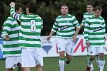 Oslava branky // SK Lhota - SK Doksy 2:1 (2:0), utkání I.A. tř., 2010/11, hráno 10:10.2010