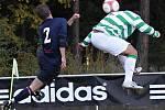 Zleva Jakub Kostka a Zdeněk Podraný //  SK Lhota - SK Doksy 2:1 (2:0), utkání I.A. tř., 2010/11, hráno 10:10.2010