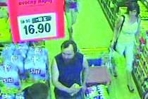 Neznámý muž s plnovousem je podezřelý z krádeže.