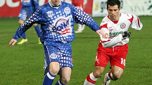Ondřej Szabo (vlevo) hrál v Hradci deset let, byl to jeho první velký klub.