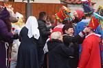 V obci Jedomělice se konal masopust po dlouhých 50 letech.