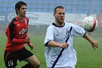 SK Kladno a.s. - FK Spartak MAS Sezimovo Ústí a.s. 1:2 (1:0) , utkání 15.k. 2. ligy 2010/11, hráno 7.11.2010
