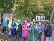 Slánský lesopark Háje se proměnil na běžeckou trasu pro malé i větší běžce.