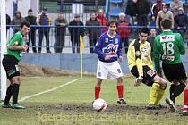 SK Kladno - FK Baumit Jablonec 1:2 , kladenský Antonín Holub zahrál výtečně a v Olomouci by se mohl dostat do základu.