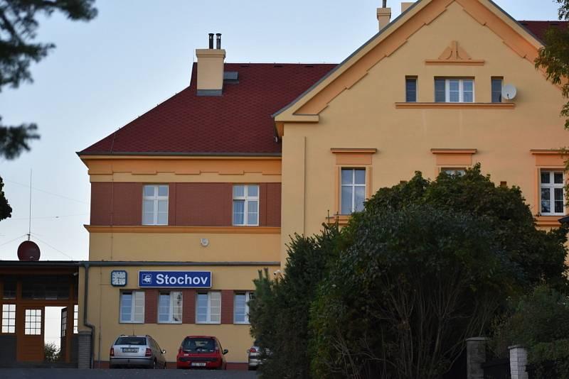 Volby na Slovance ve Vládním salónku na vlakovém nádraží.