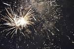 شب سال نو 2019 در منطقه کلادنو.