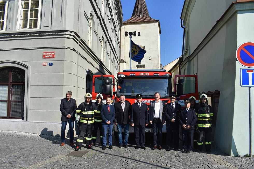 Požární stanice ve Slaném slaví 50 let.