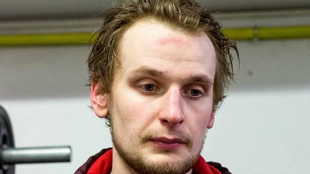 Denis Kindl po utkání s Ústím nebyl moc veselý.